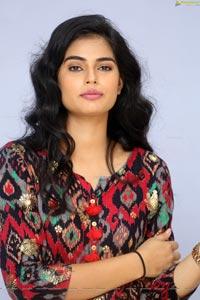Cairvee Thakkar at Malli Malli Chusa Trailer Launch