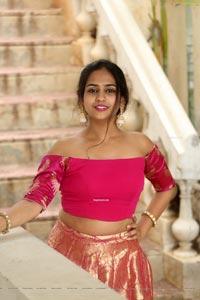 Deekshitha Parvathi Stills at Neekosam Movie Pre-Release
