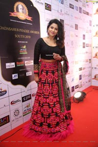 Jyothi at Dadasaheb Phalke Awards South 2019