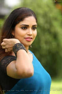 Karunya Chowdary at 3 Monkeys Movie First Look Launch