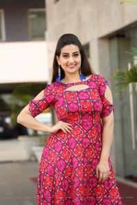 Manjusha at Chanakya Teaser Launch