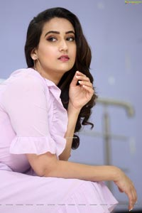 Manjusha at Dhamki Trailer Launch