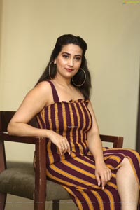 Manjusha at Gaddalakonda Ganesh Success Meet