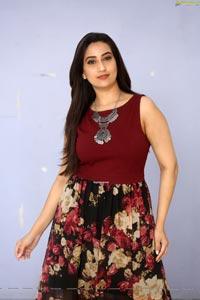 Manjusha at Malli Malli Chusa Trailer Launch