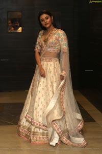 Megha Chowdhury at Marshal Pre-Release