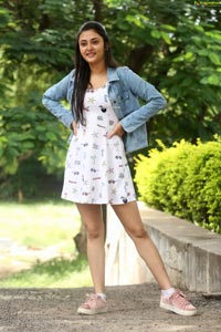 Megha Chowdhury at Marshal Success Meet