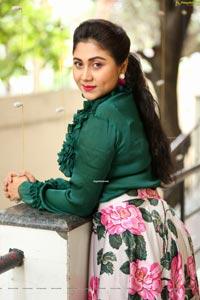 Meghali at Kala Silk Expo