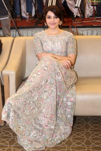 Mehrene Kaur Pirzada at Chanakya Trailer Launch