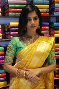 Nabha Natesh at CMR Dilsukhnagar Showroom Opening