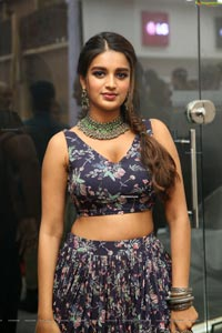 Nidhhi Agerwal at Bajaj Electronics Gold Hungama