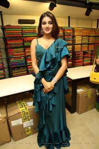 Nidhhi Agerwal at KLM Fashion Mall Launch