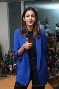 Niharika Konidela at Madhouse Web Series Press Meet