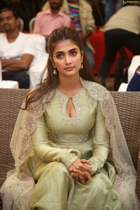 Pooja Hegde at Gaddalakonda Ganesh Success Meet
