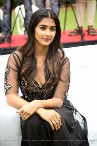Pooja Hegde at Valmiki Press Meet