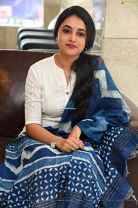 Priyanka Arul Mohan at Gang Leader Press Meet