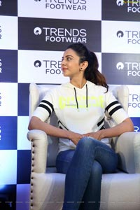 Rakul Preet Singh at Reliance Trends Footwear Store Opening