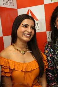 Samantha Akkineni at Azent Overseas Education Launch