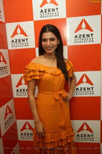 Samantha Akkineni at Azent Overseas Education Launch