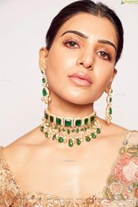 Samantha at Shyamal & Bhumika Store Opening