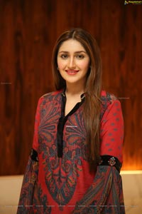 Sayyeshaa Saigal Stills at Bandobast Pre-Release Event