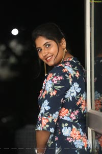 Sonia Chowdary at Ninnu Thalachi Trailer Launch