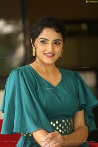 Sukrutha Wagle at Rama Sakkani Seetha Interview