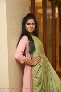 Tara Chowdary at Sutraa Grand Curtain Raiser
