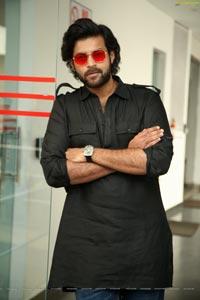 Varun Tej at Valmiki Interview