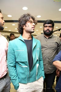 Vijay Deverakonda at KLM Fashion Mall Launch