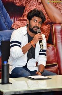 Nani Press Meet at Vijayawada Novotel