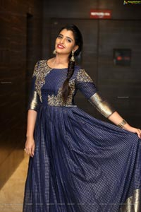 Shyamala at Gang Leader Pre-Release Event