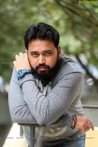 Tanishq Reddy at Darpanam Movie Interview