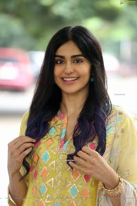 Adah Sharma at Question Mark First Look Launch