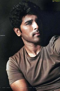 Allu Sirish Poses with cigar in mouth