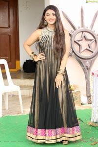 Karishma Jadhav at Rajputh Movie Opening