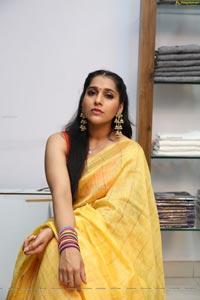 Rashmi Gautam at Linen House E-Commerce Portal Launch