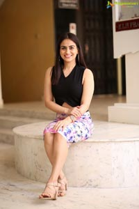 Aksha Pardasany at Akhila Title Launch Event