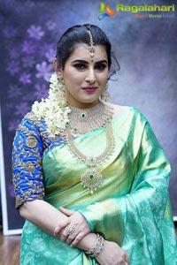 Archana Shastry In Silk Saree