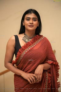Hebah Patel at Orey Bujjiga Pre-Release Event