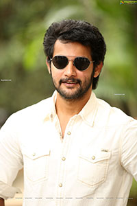 Aadi Saikumar Stills at Atithi Devobhava First Look Launch