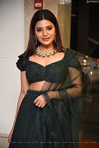 Aathmika at Vijaya Raghavan Movie Pre-Release Event