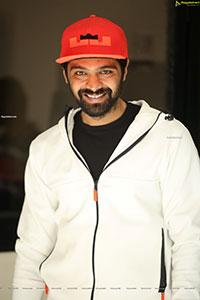 Adith Arun Stills at Dear Megha Movie Thanks Meet