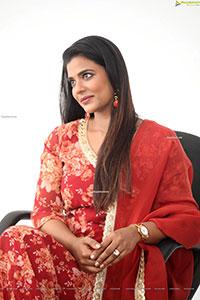 Aishwarya Rajesh at Republic Movie Interview