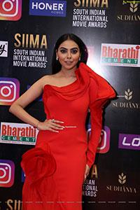 Akshaya Alshi at SIIMA Awards 2021 Day 2