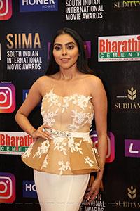 Akshaya at SIIMA Awards 2021