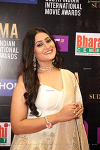 Amrutha Iyengar at SIIMA Awards 2021