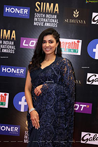 Anju Kurian at SIIMA Awards 2021 Day 2