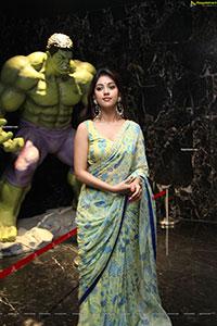 Anu Emmanuel at Maha Samudram Trailer Launch