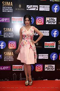 Bhavya Sri at SIIMA Awards 2021 Day 2