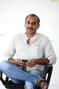 Director Deva Katta at Republic Movie Interview